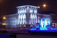 освещение фасадов в Туле