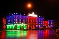 Наружное освещение: архитектурное освещение зданий, фасадов дома в Туле
